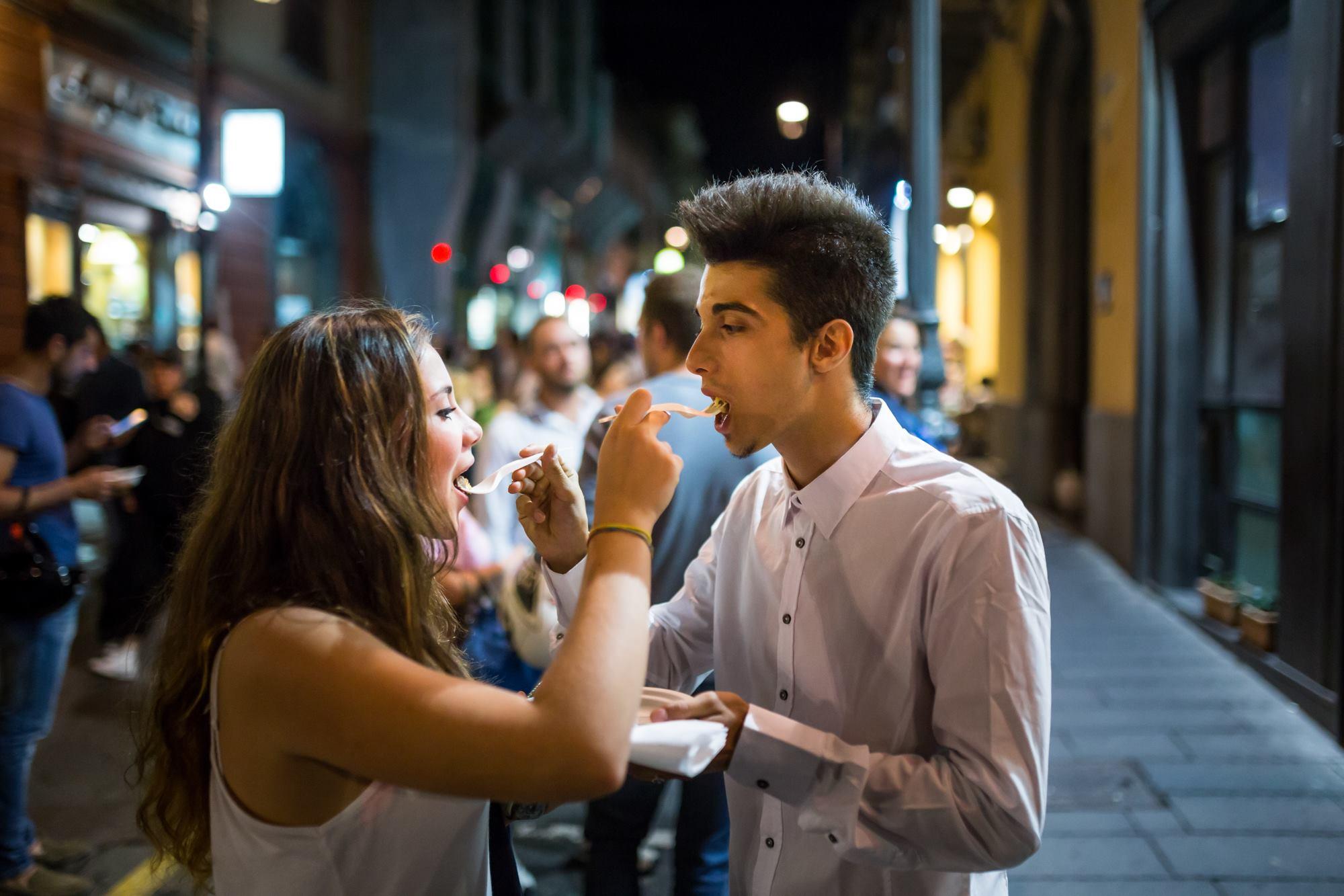 mangiare Festa a Vico