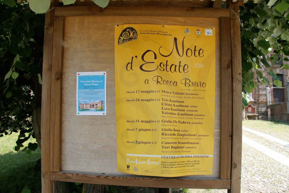 milano cascina santa brera Concerti Rocca Brivio
