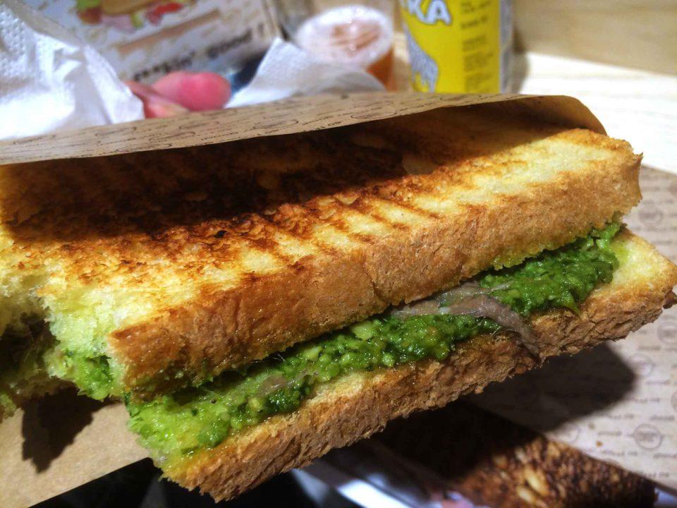 milano street toast ripieno