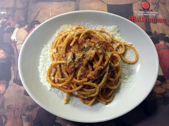 millennium ristorante roma senza glutine