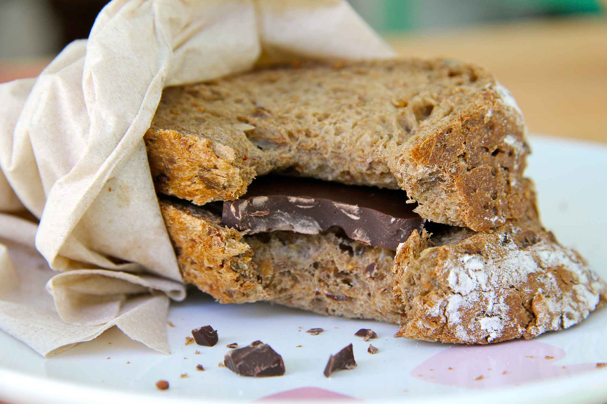 pane e cioccolato chicchere in ghingheri