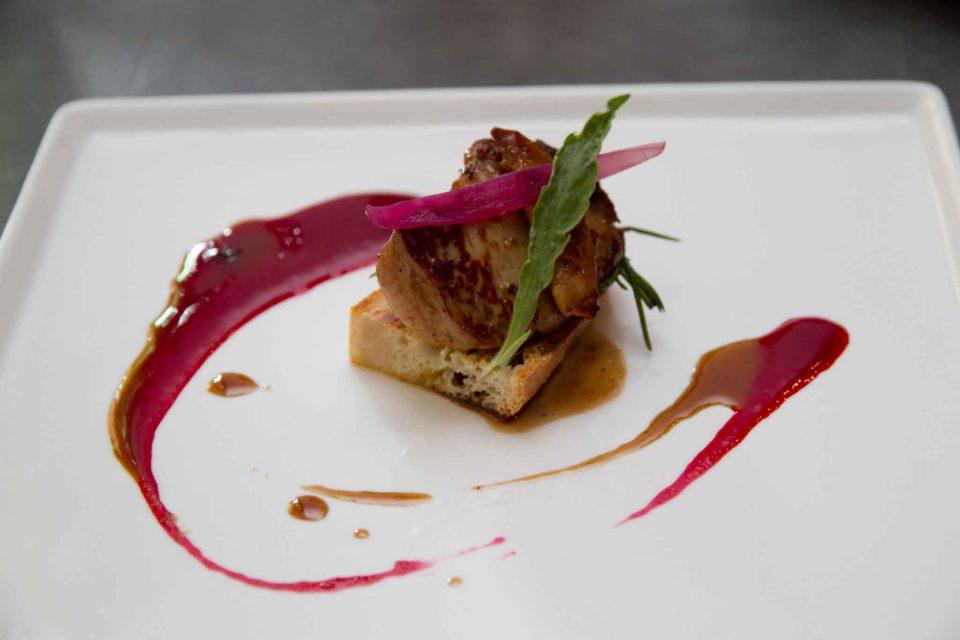 pane mozzarella foie gras