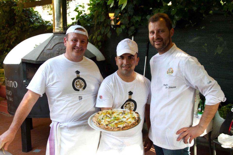 pizza Paolo De Simone Festa a Vico