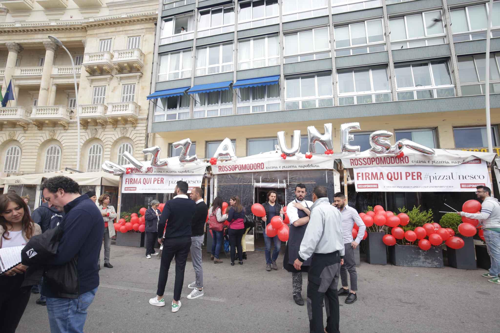 pizza Unesco raccolta firme