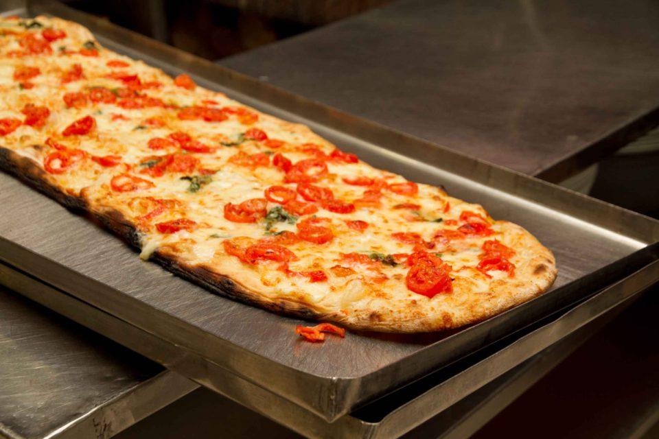 pizza a metro