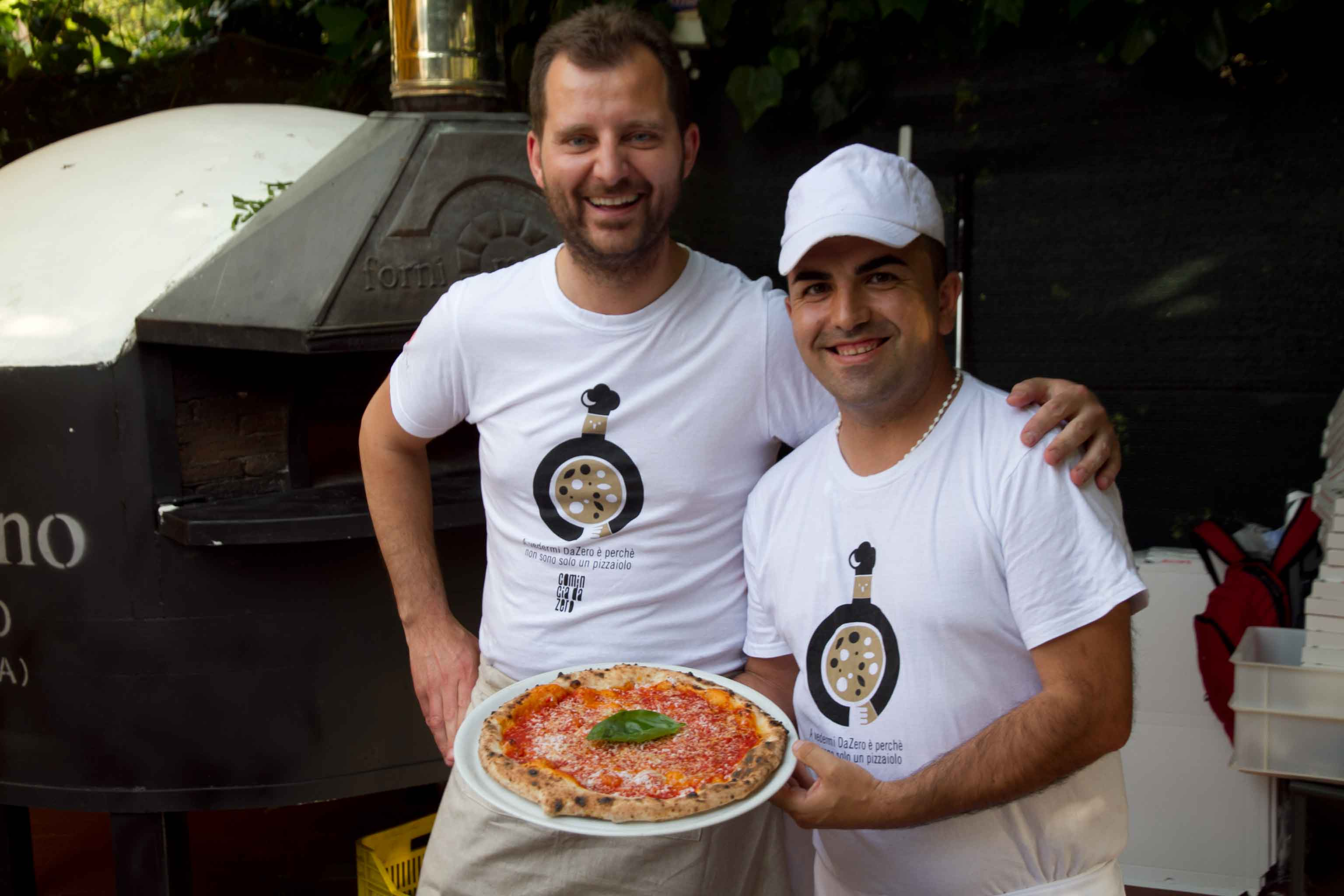 pizza cilentana Paolo De Simone