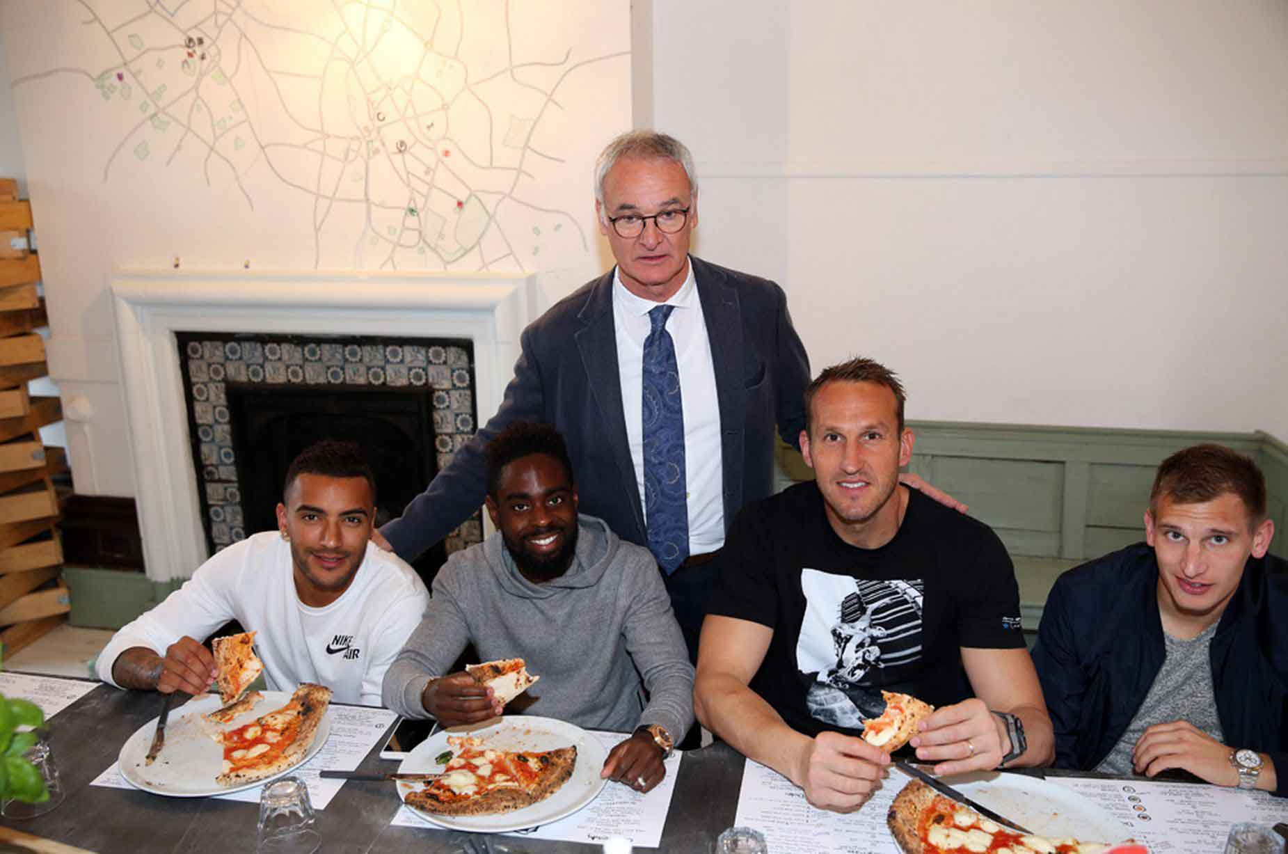 pizza claudio ranieri
