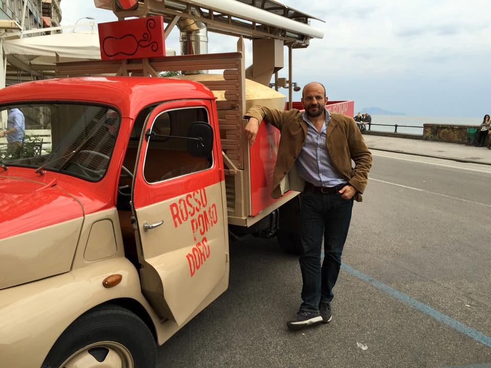 pizza food truck Rossopomodoro Franco Manna