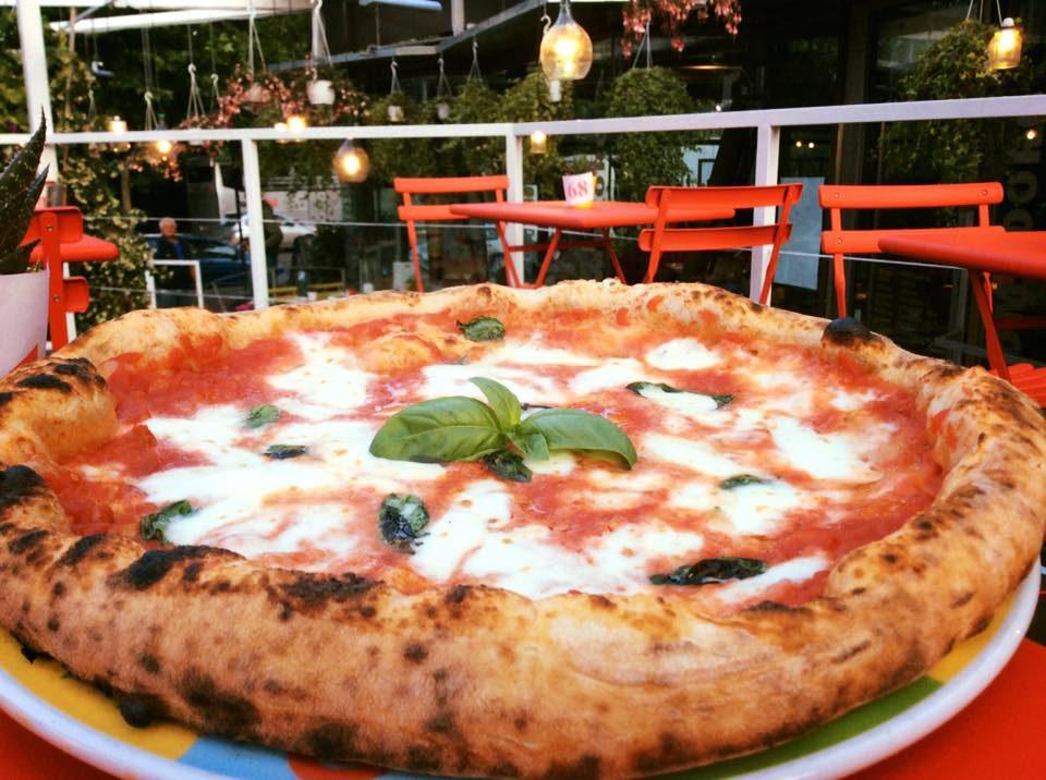 pizza margherita Rossopomodoro Mazzini