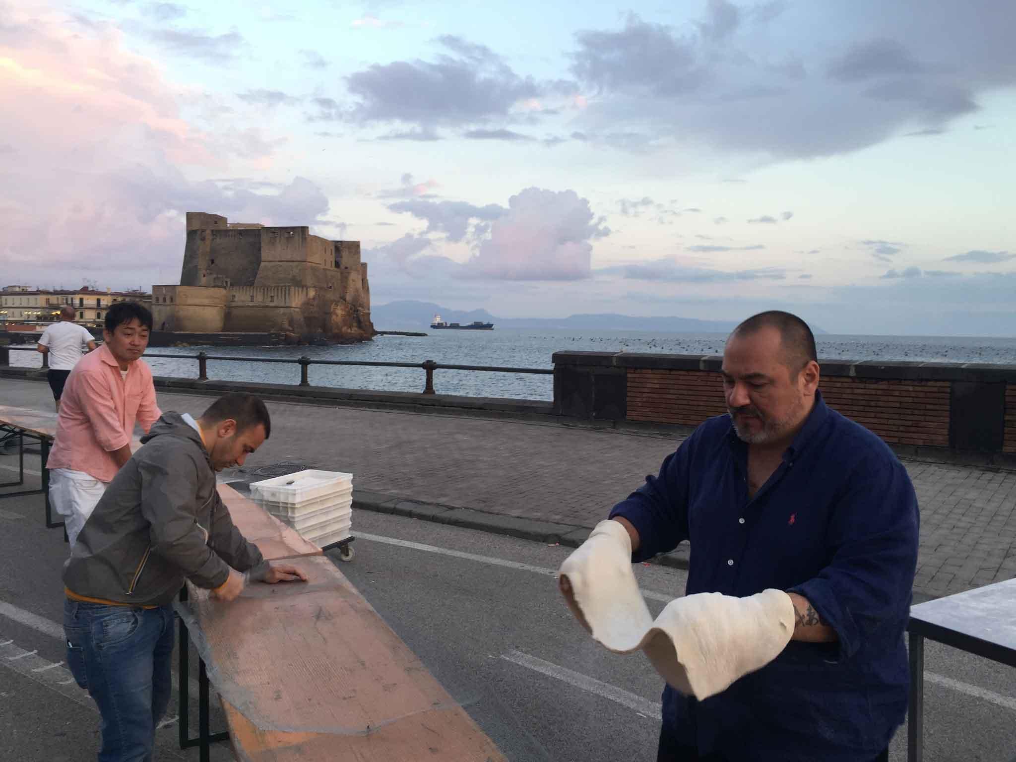 pizza più lunga del mondo record Napoli 16