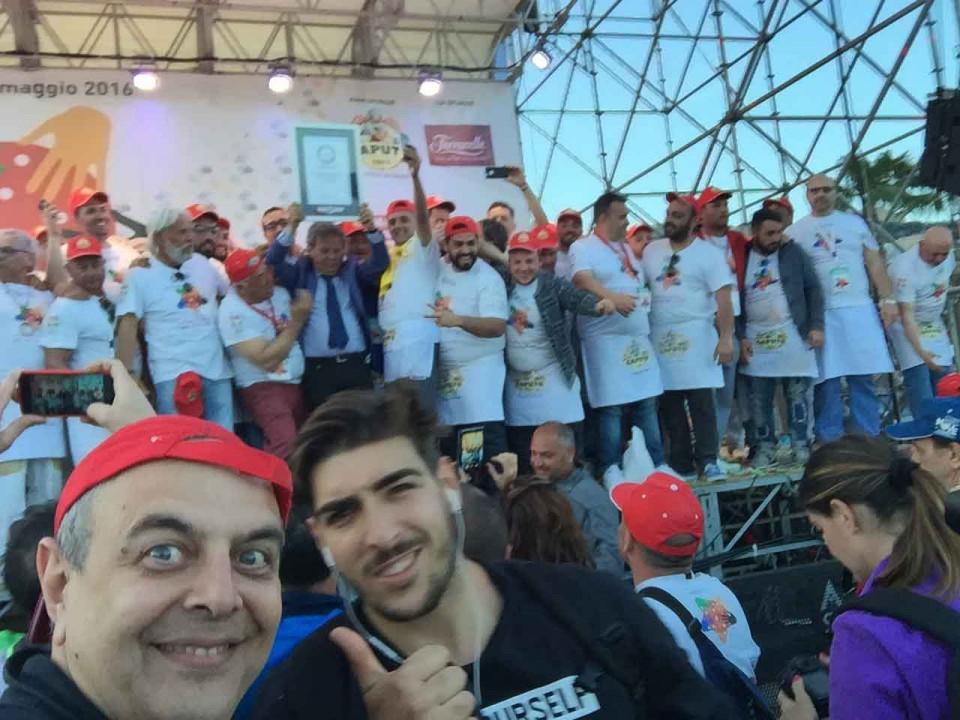 pizza più lunga del mondo record Napoli 6