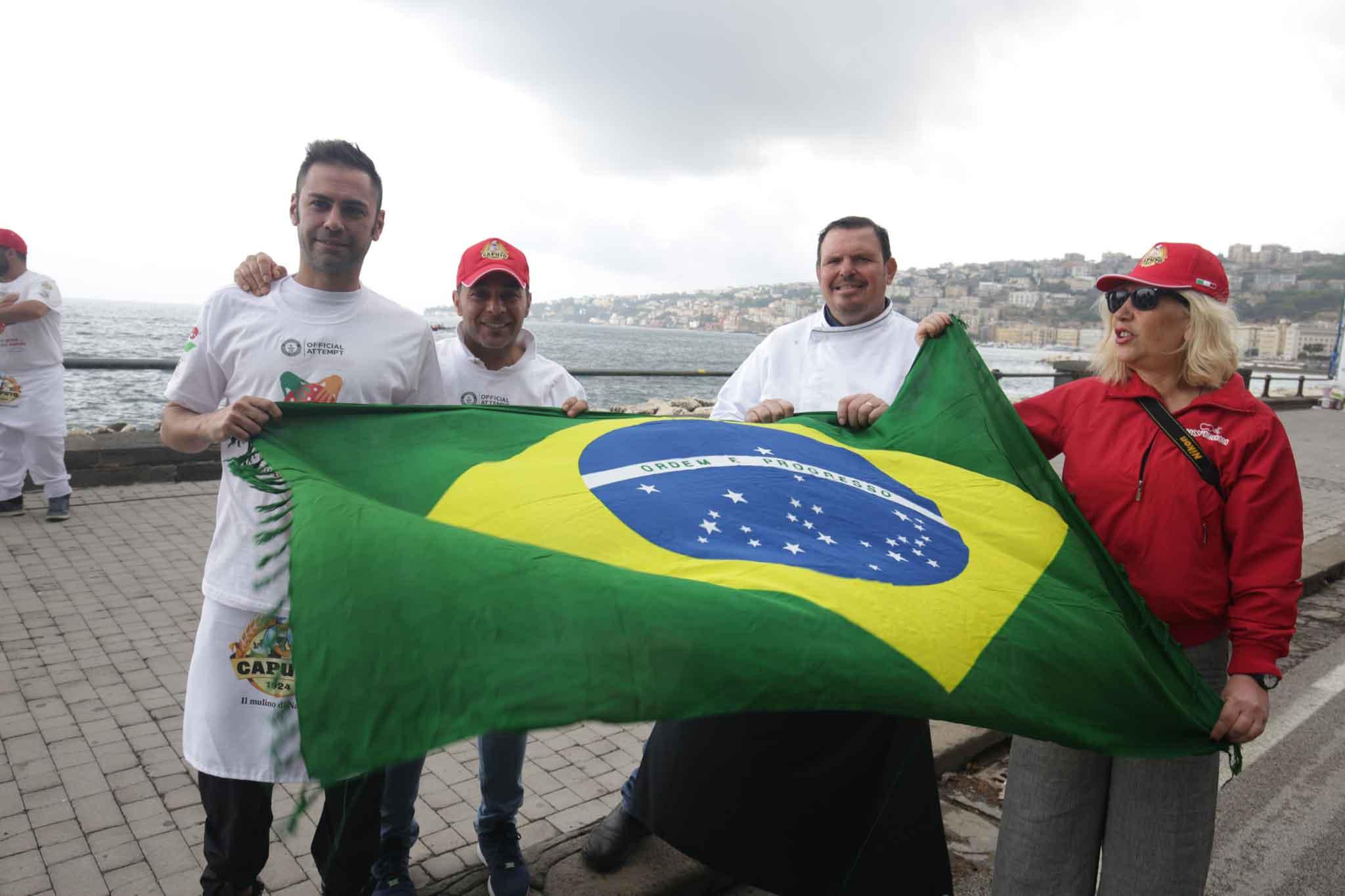 pizza record dal Brasile