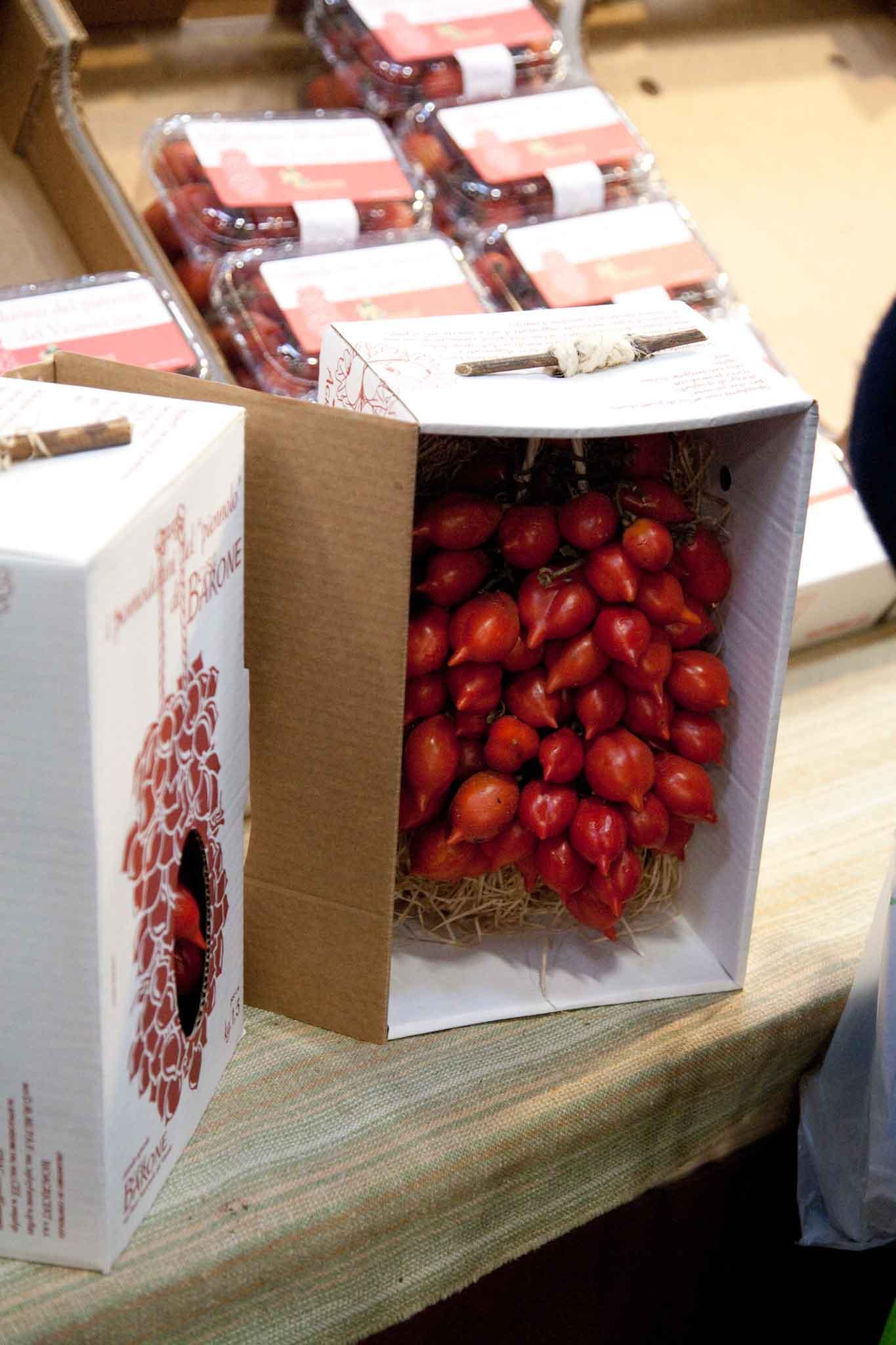 pomodorino piennolo Vesuvio