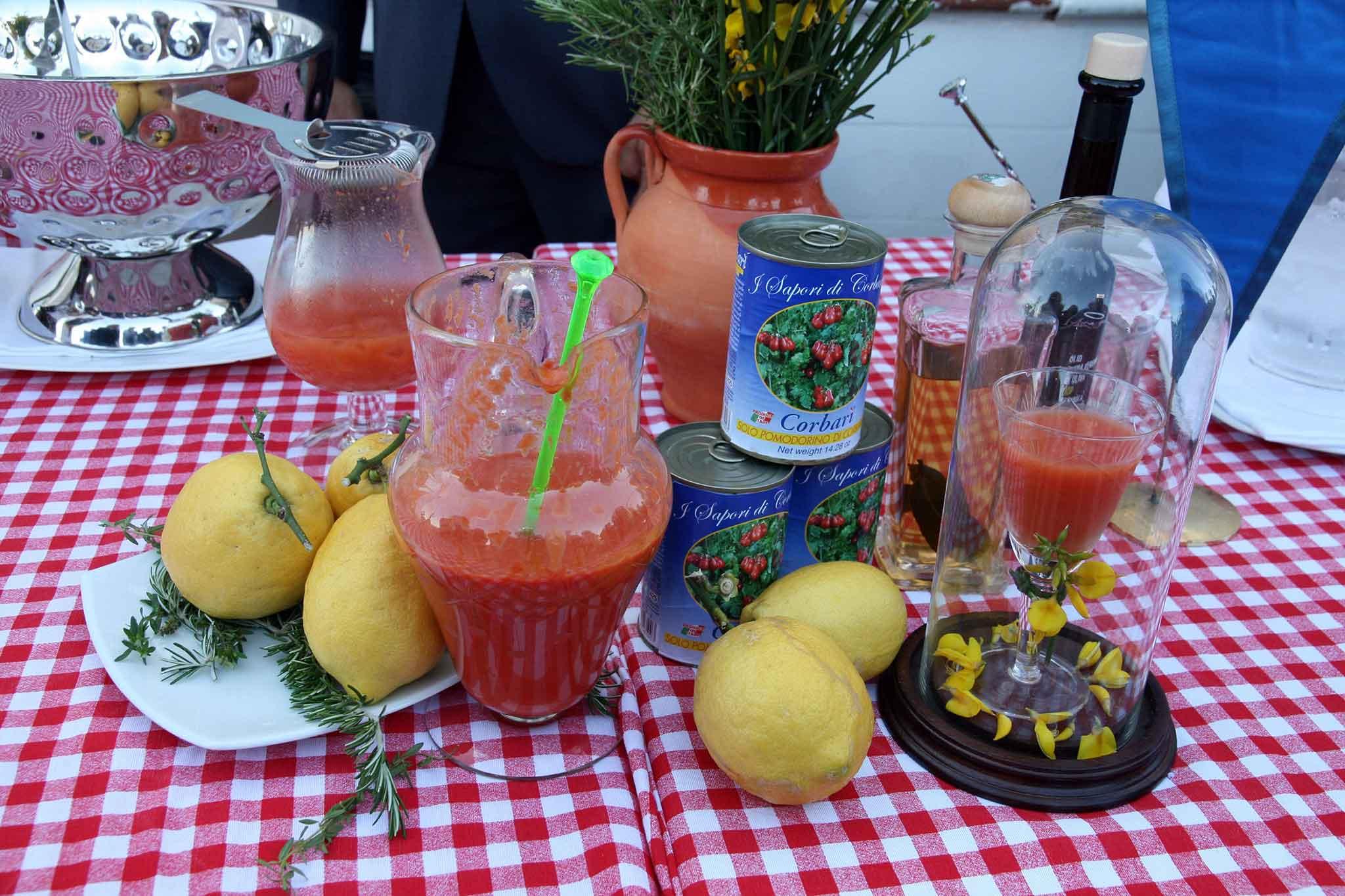 pomodoro degustazione