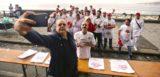 Volti e foto del record della pizza più lunga del mondo rinviato a mercoledì