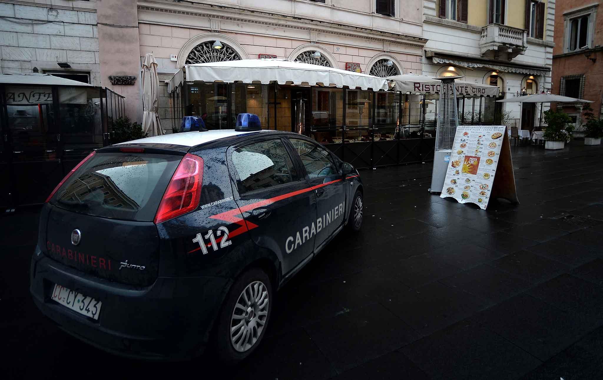 roma sequestro ristoranti