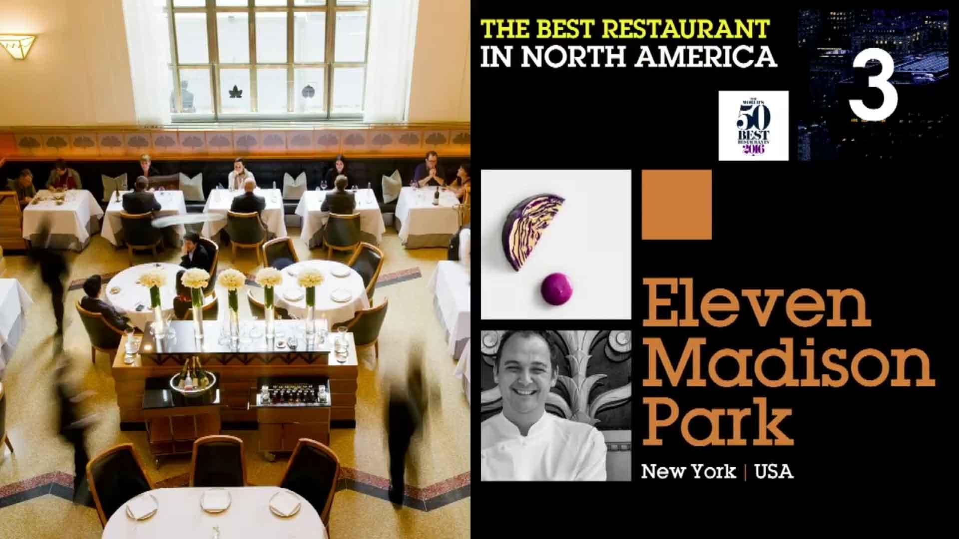 50 Best Restaurants 2016 classifica 3