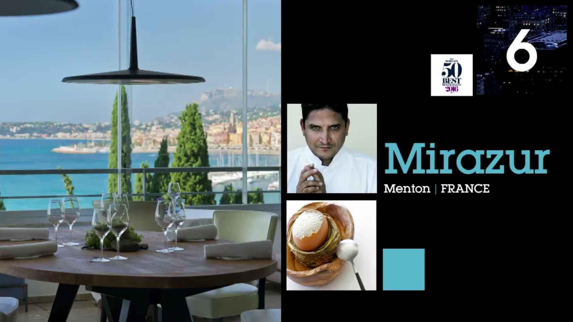 50 Best Restaurants 2016 classifica 6