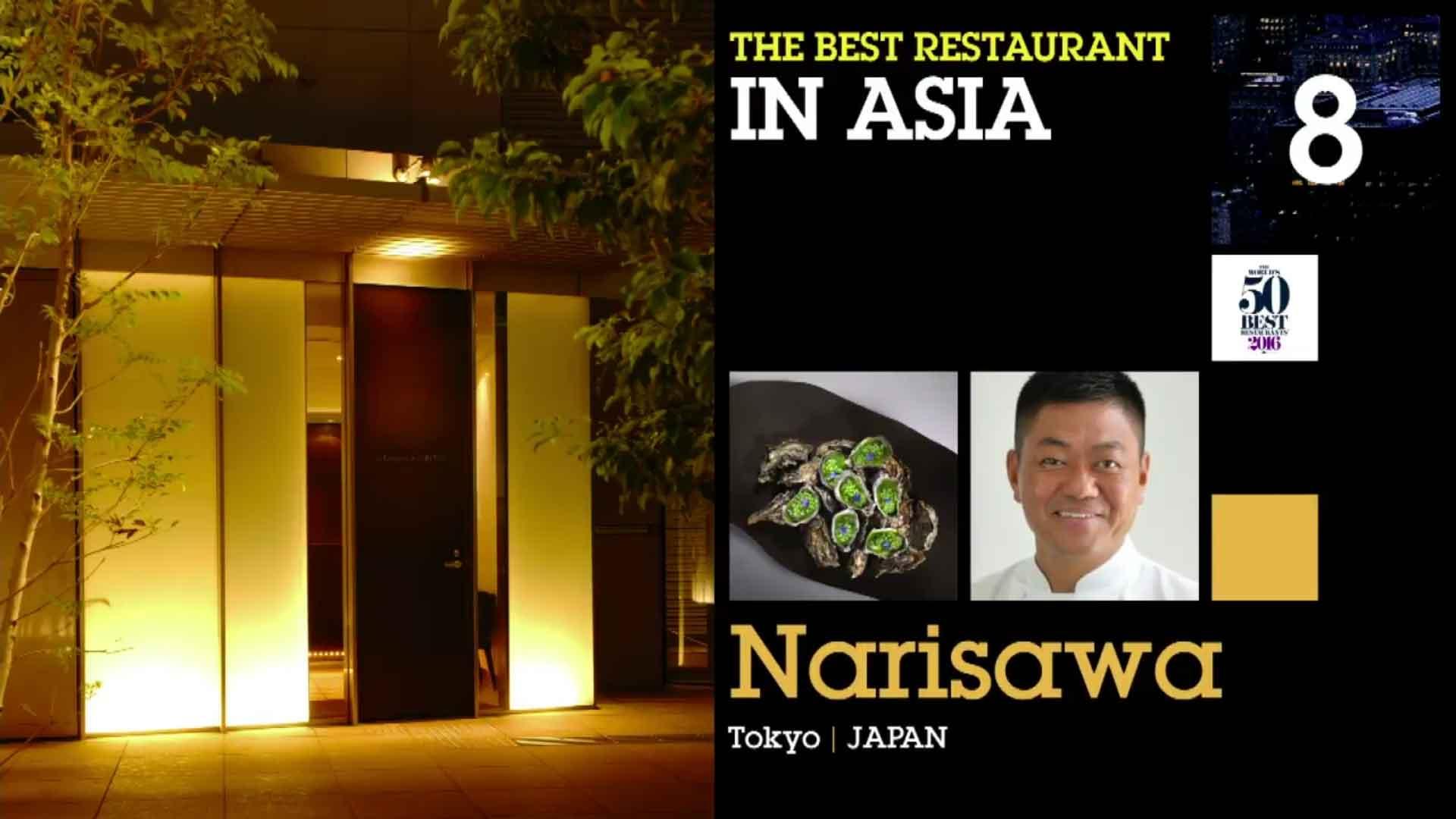 50 Best Restaurants 2016 classifica 8