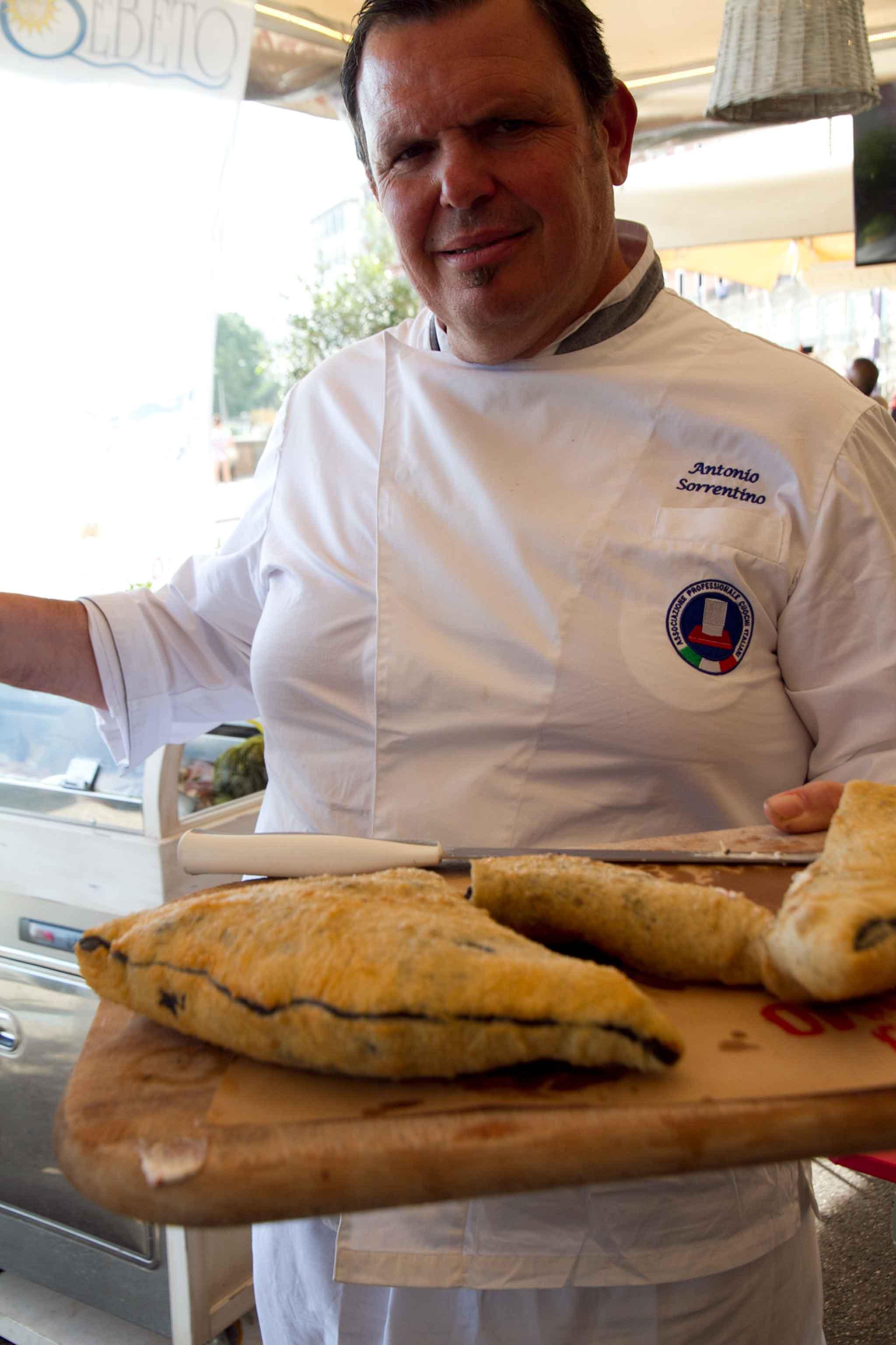 Antonio Sorrentino pizza