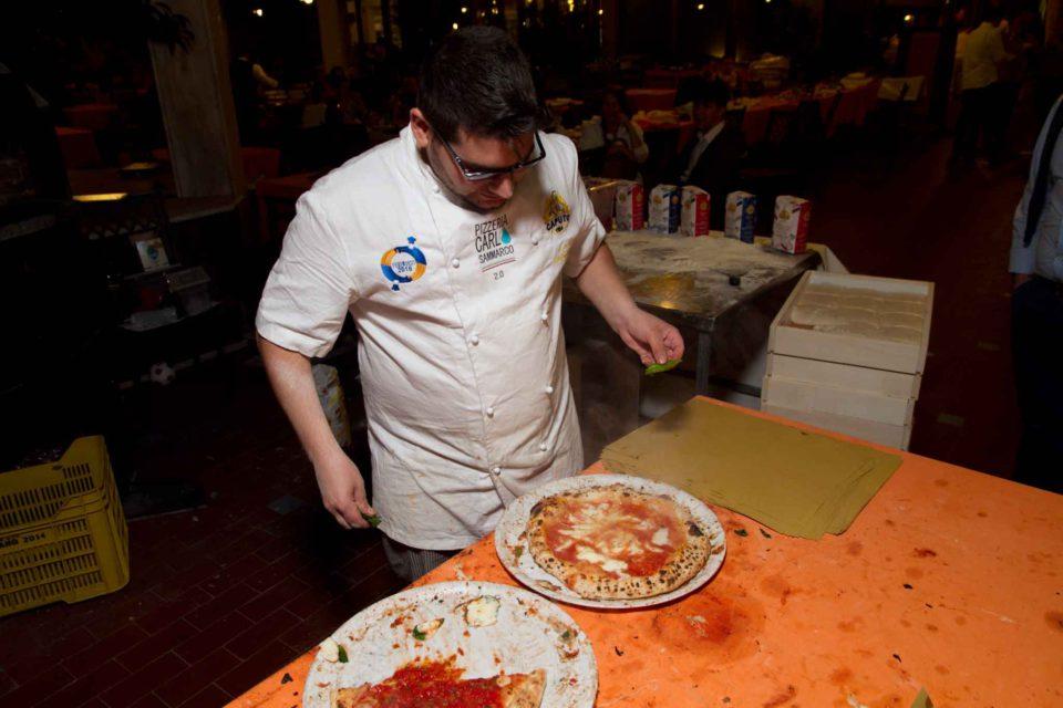 Carlo Sammarco nuova pizza