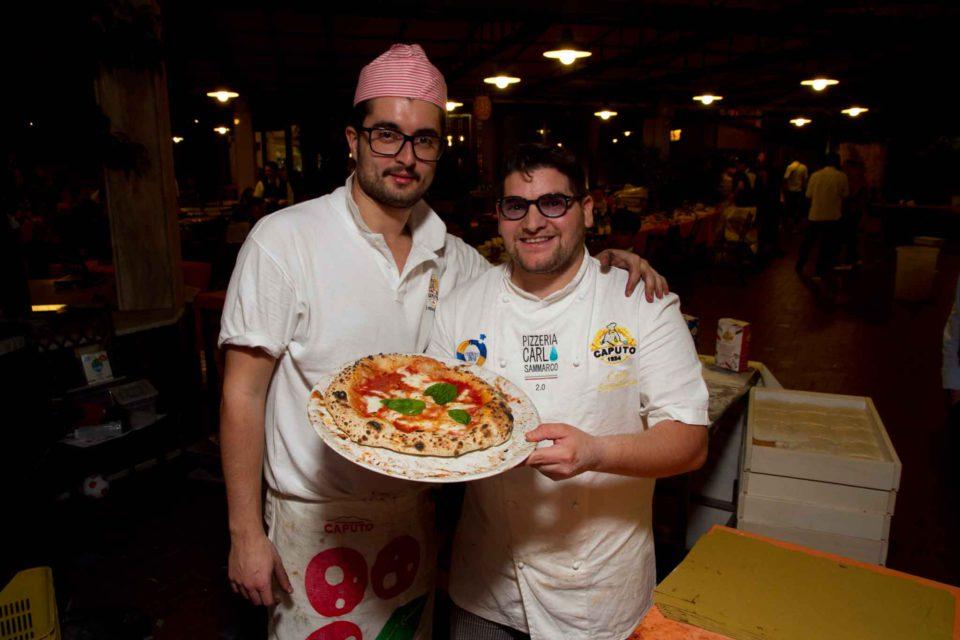 Carlo Sammarco pizza Margherita 2.0