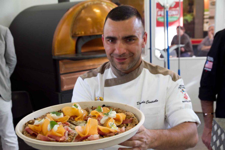 Davide Civitiello pizza cuor di cereali