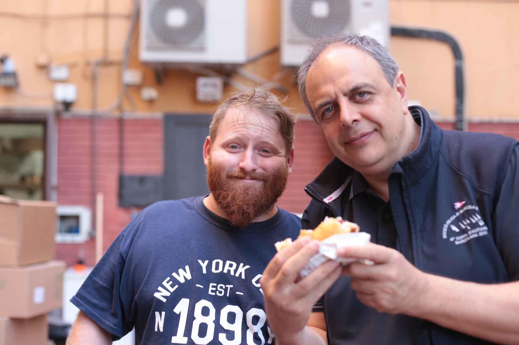 Egidio Cerrone e Vincenzo Pagano PuokBurger