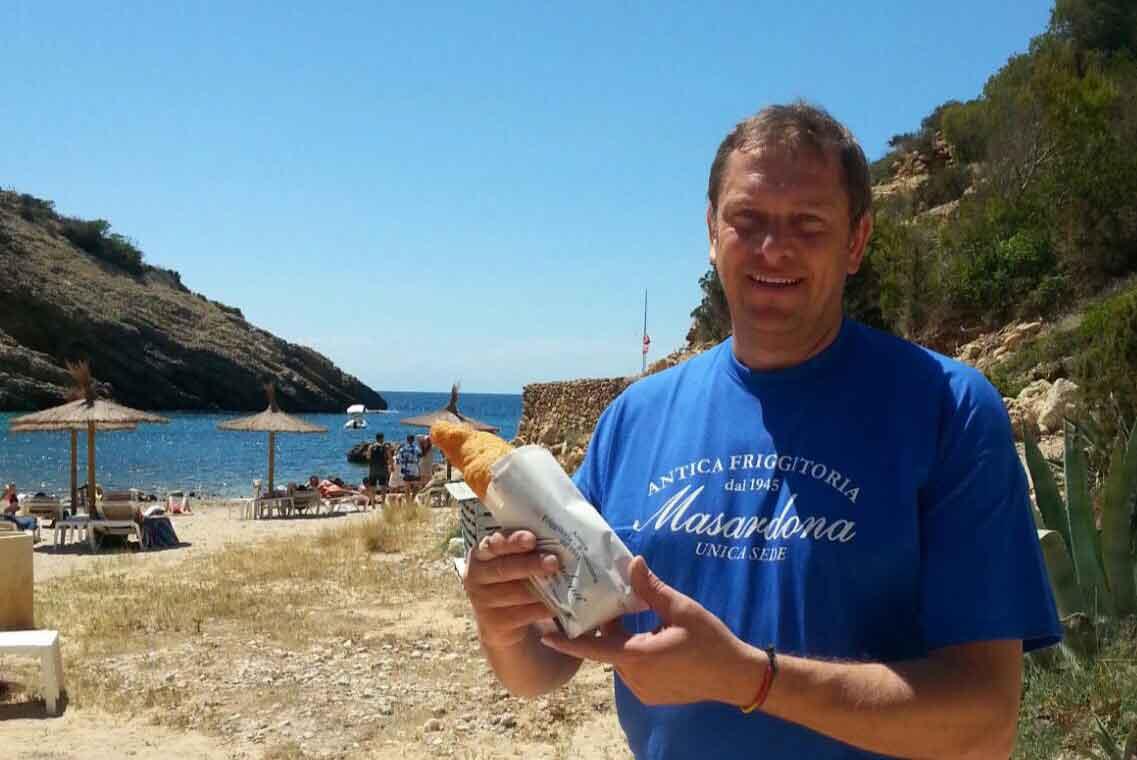 Enzo Piccirillo Masardona a Ibiza