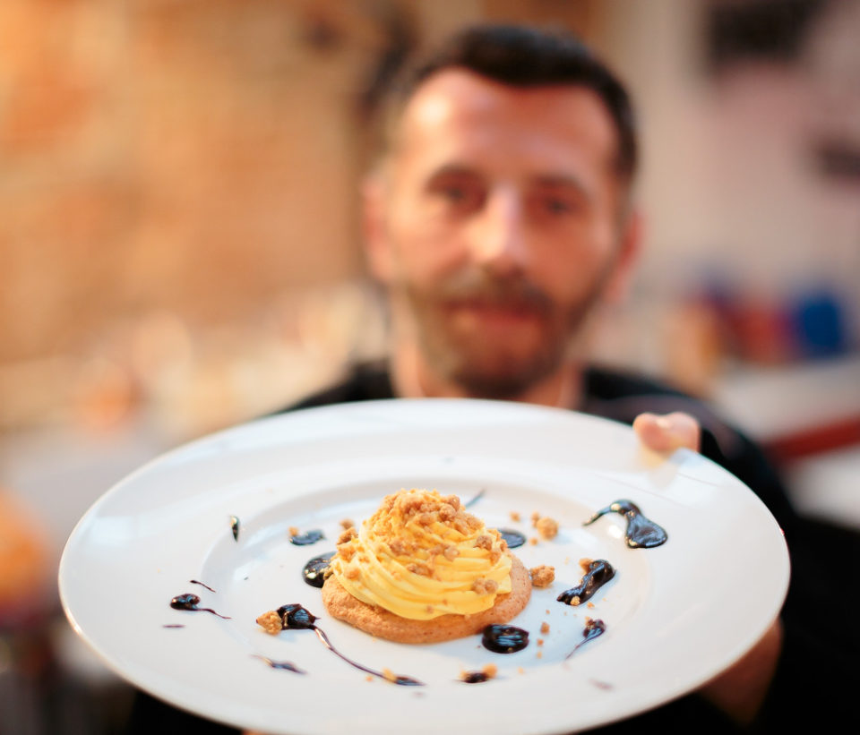 Chef Andrea Venzo Ristorante Industria Firenze