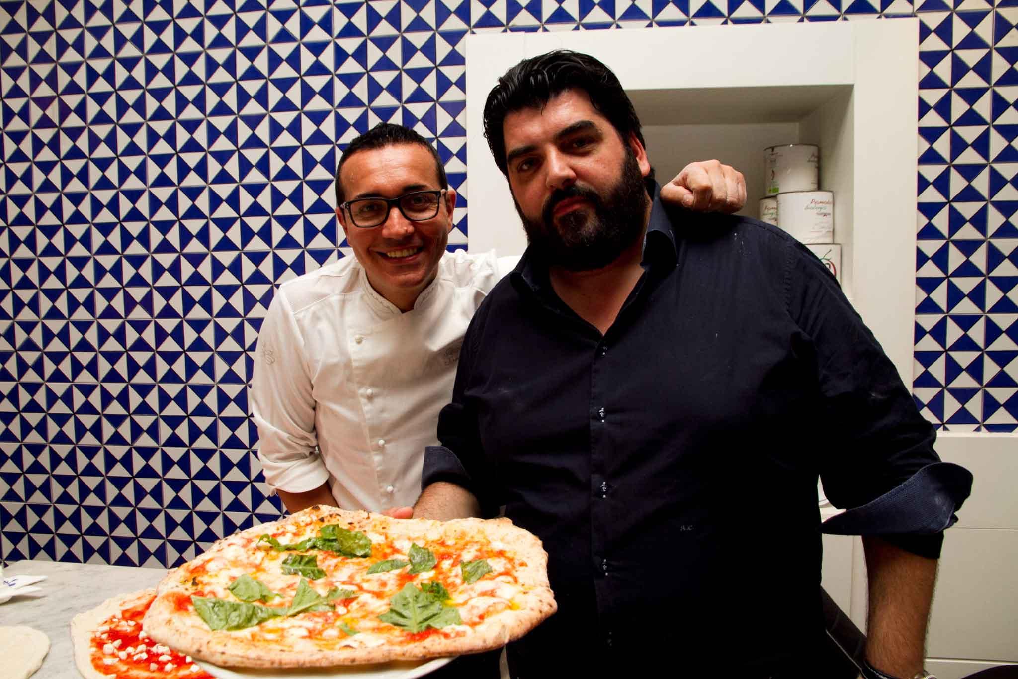 Gino Sorbillo e la pizza perfetta di Antonino Cannavacciuolo