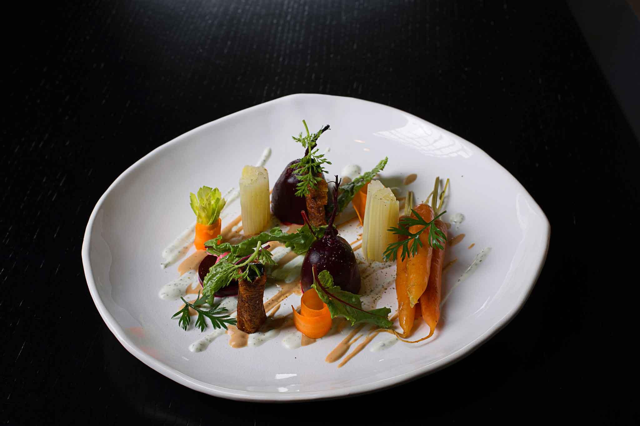 Insalata di carote barbabietola sedano