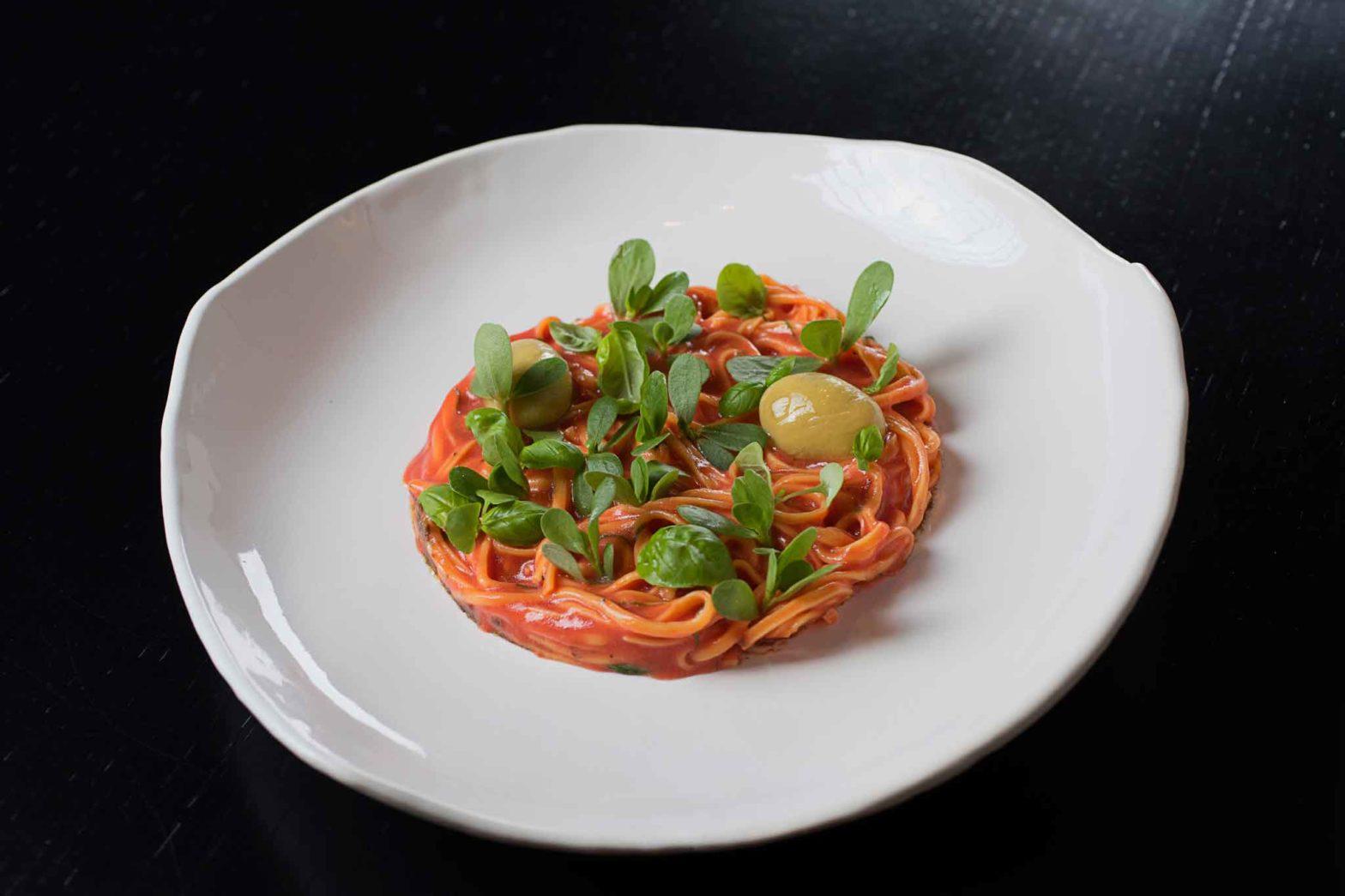 insalata di spaghetto Andrea Berton