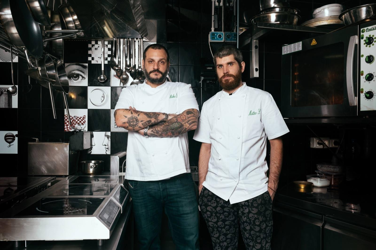 Misha Sukyas e Matteo Simonato