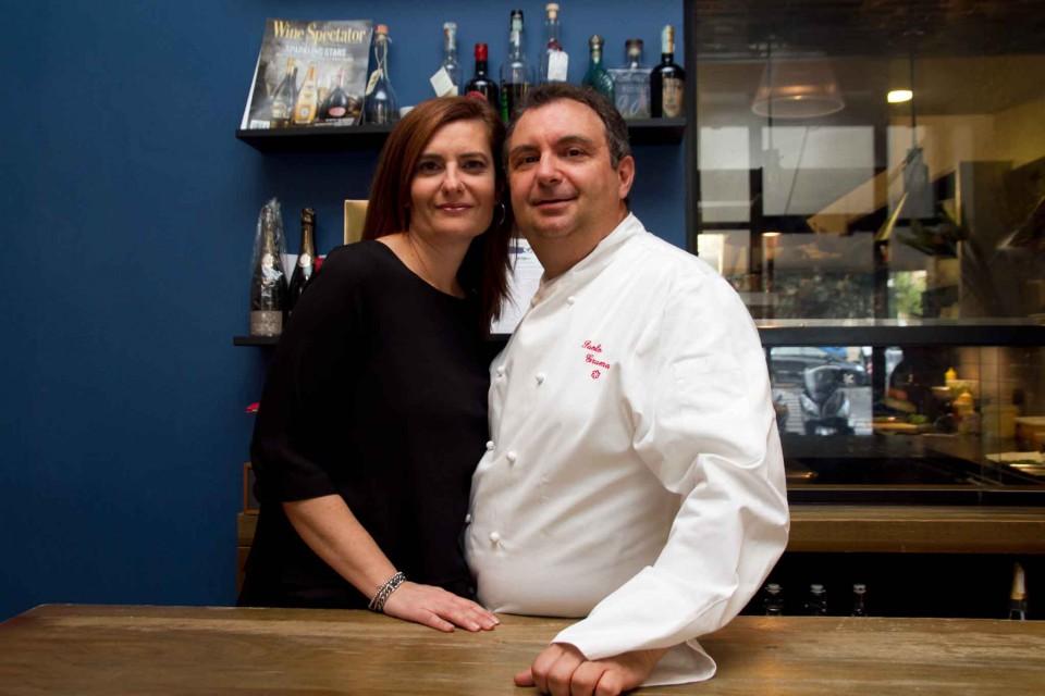 Paolo Gramaglia chef moglie