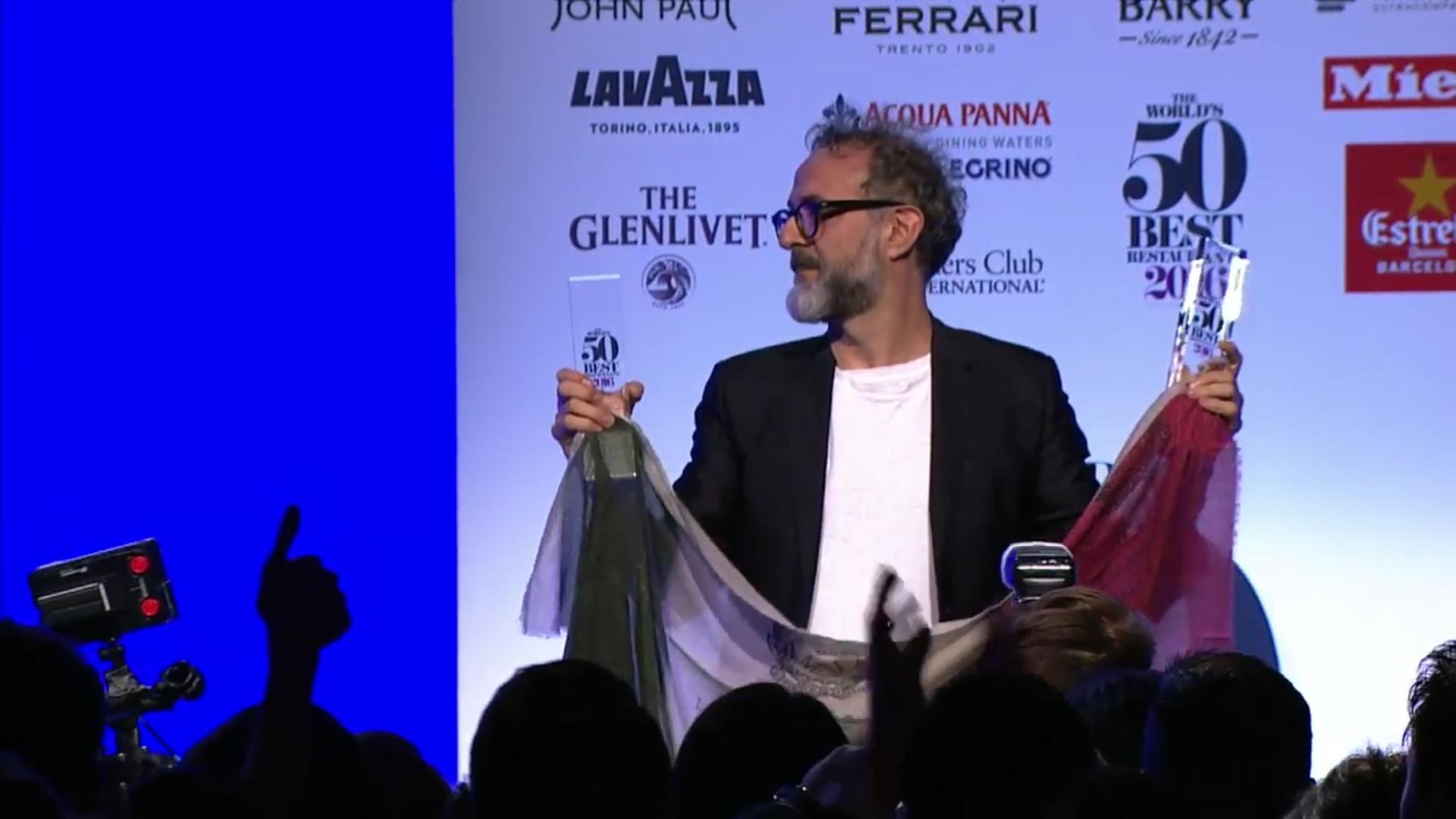 Massimo Bottura 50 Best 2016