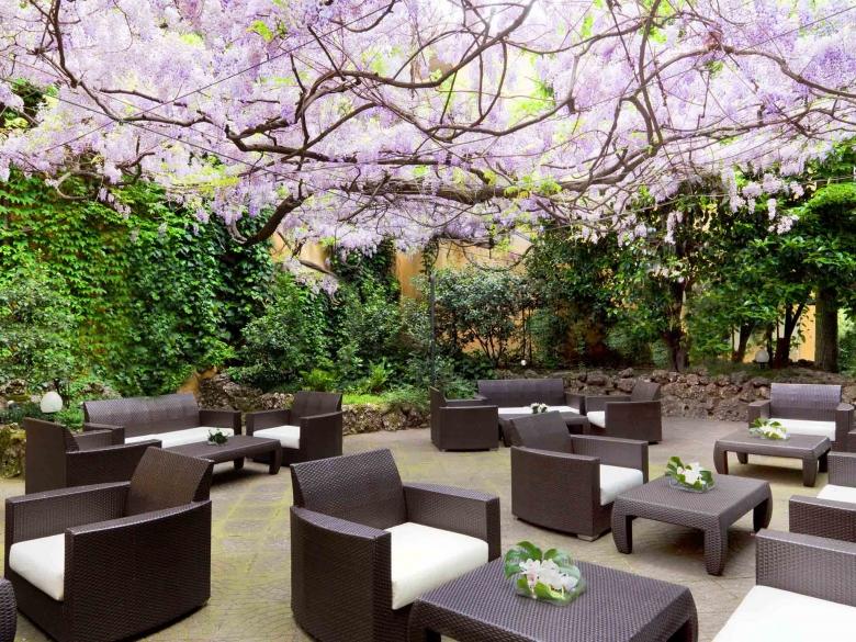 Sheraton-Diana giardino