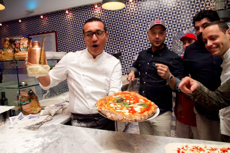 Sorbillo e la pizza di Bastianich