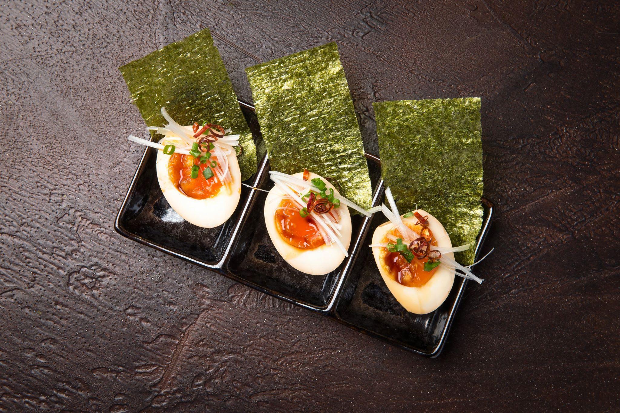 Spicy Ajitama akira ramen bar roma