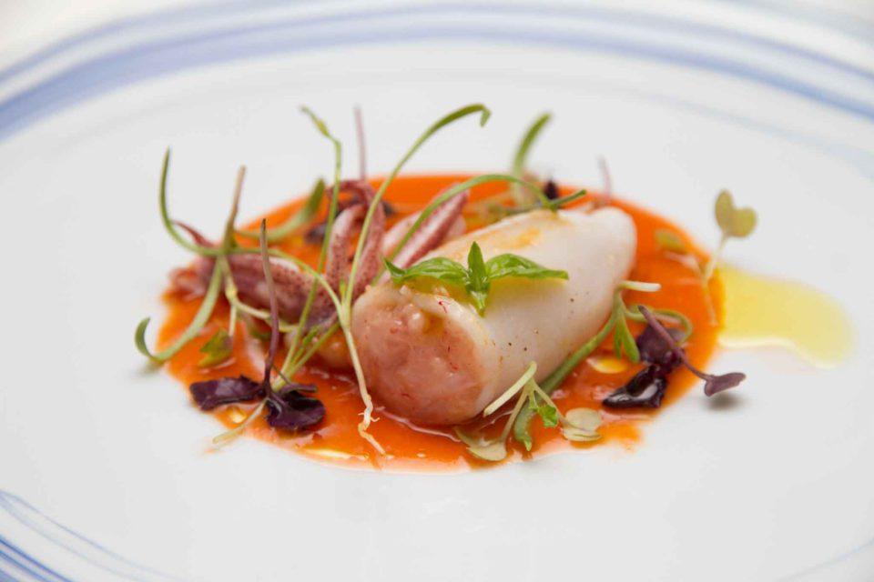 calamaro gazpacho Gennaro Amitrano