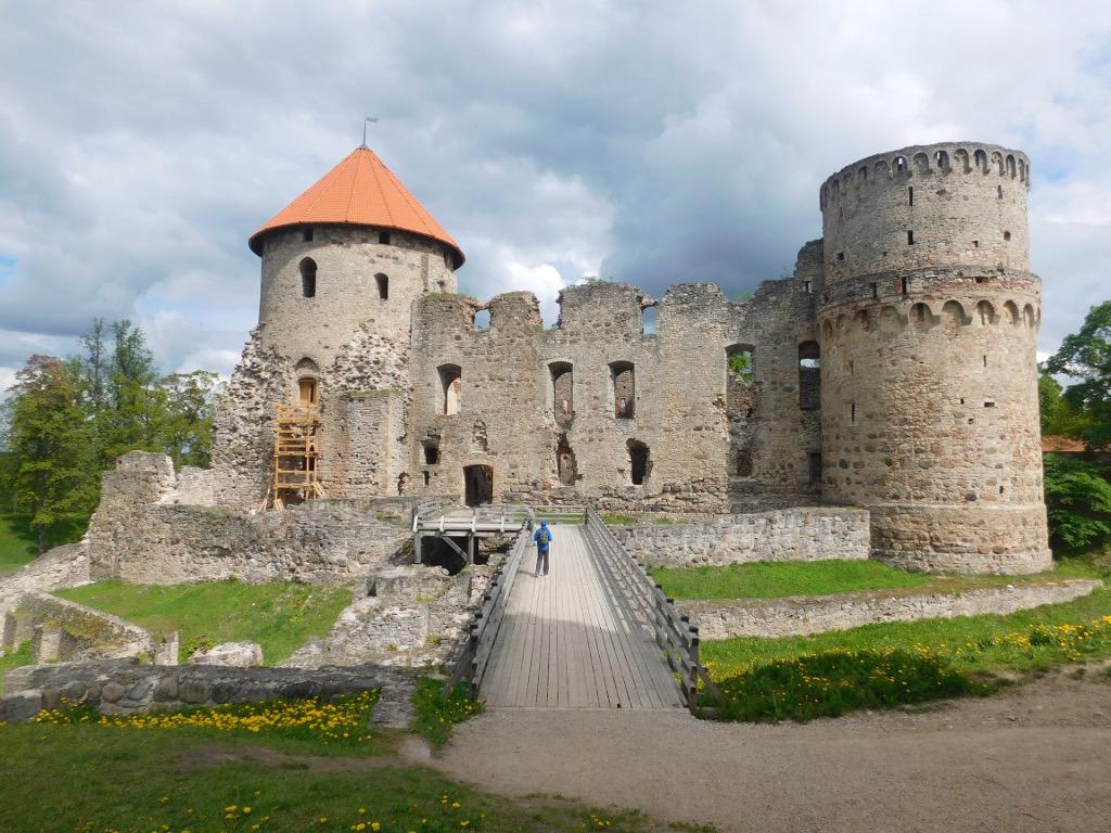 castello cesis lettonia