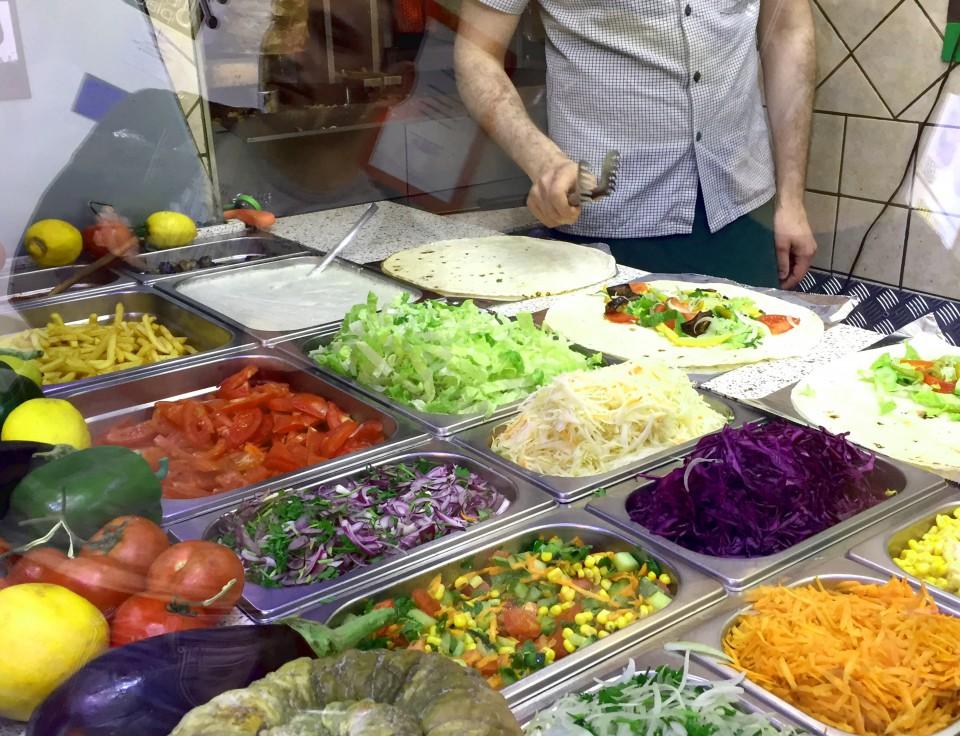 kebab arco di travertino