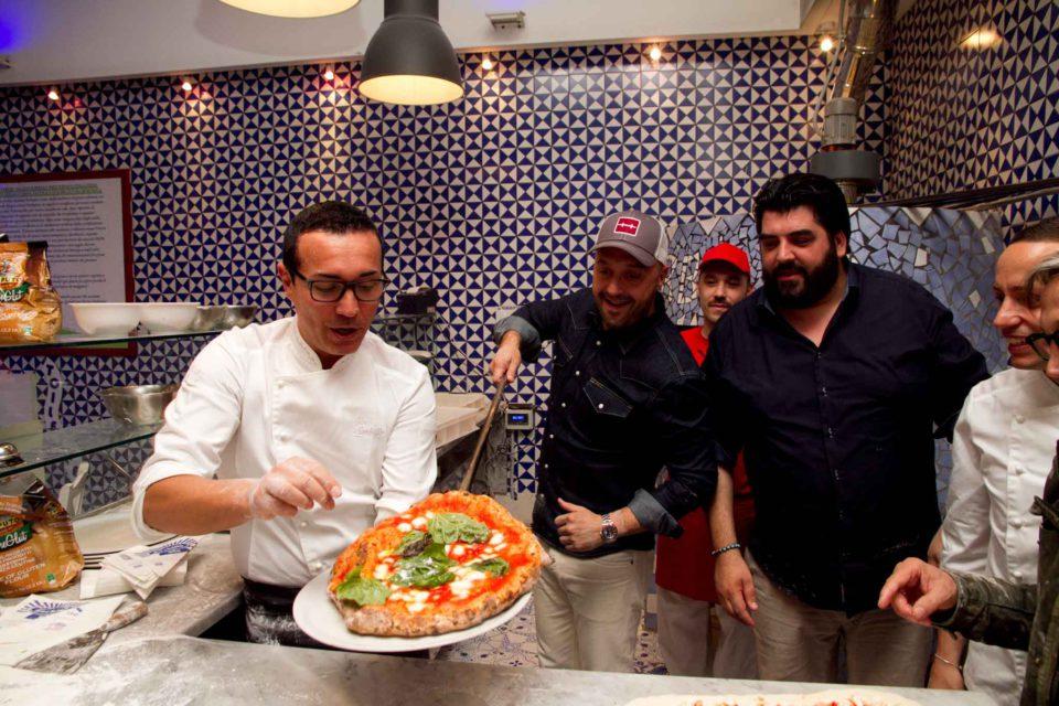 la pizza di Bastianich