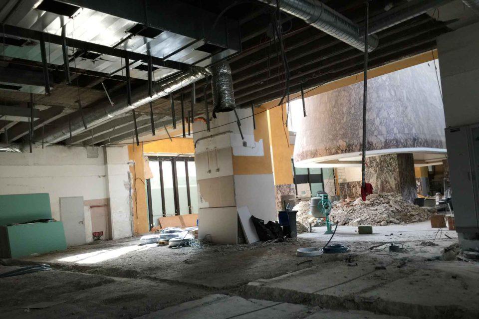 nuovo Mercato Centrale Stazione Termini cappa mazzoniana