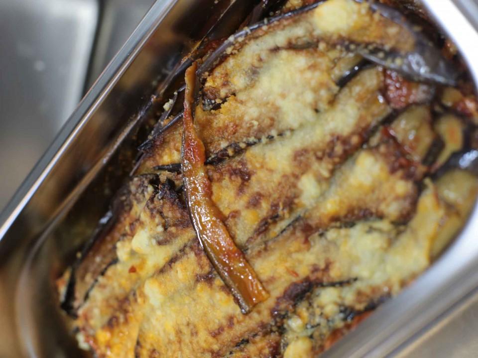 parmigiana melanzane
