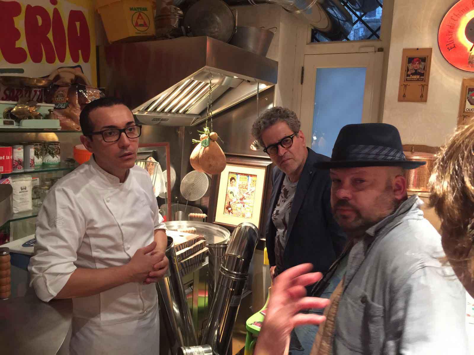 pizza Gino Sorbillo Masterchef israele 1