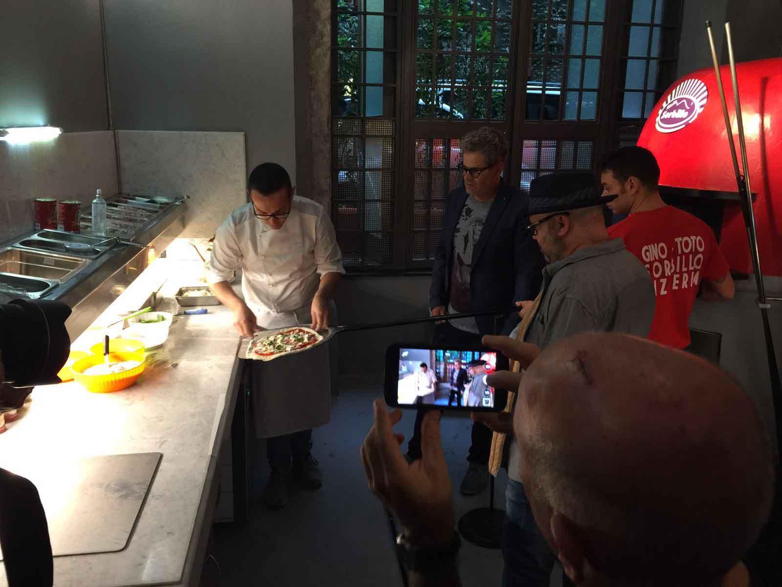 pizza Gino Sorbillo Masterchef israele 2