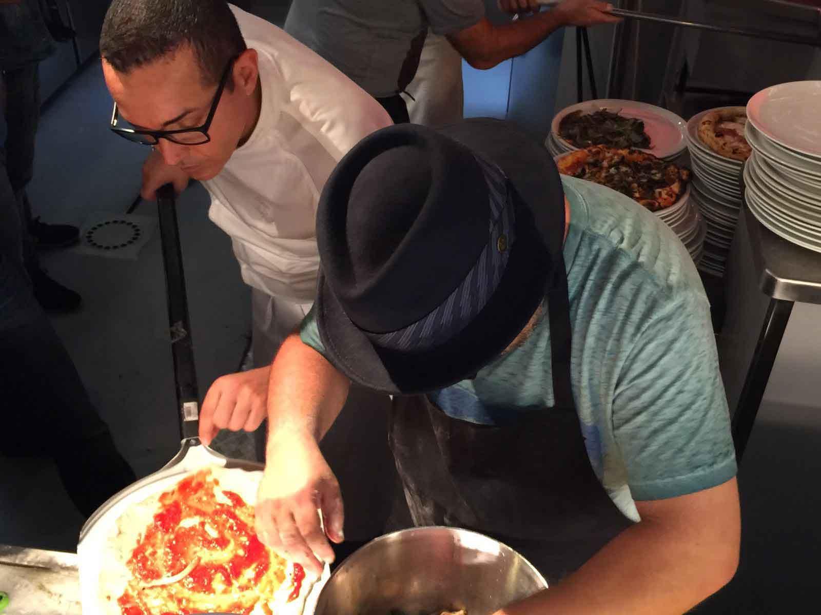 pizza Gino Sorbillo Masterchef israele 3