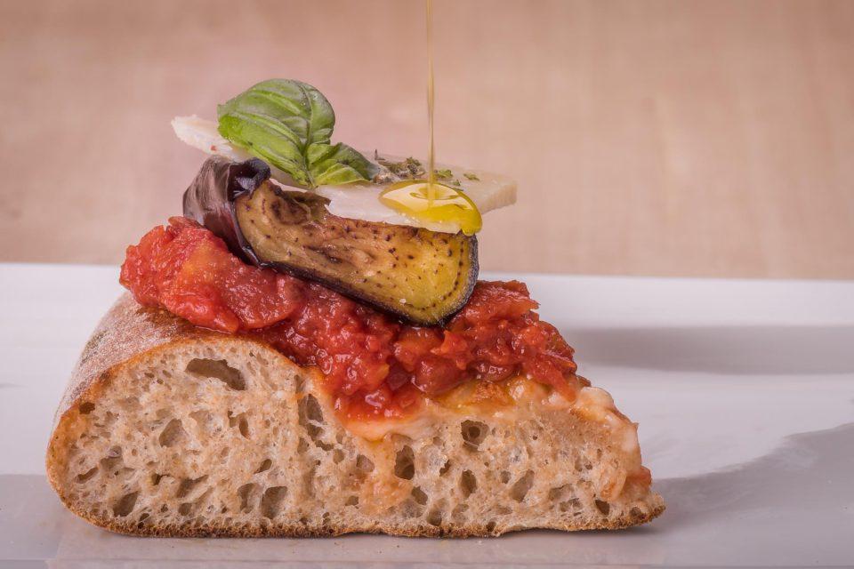 pizza parmigiana impasto idrolisi