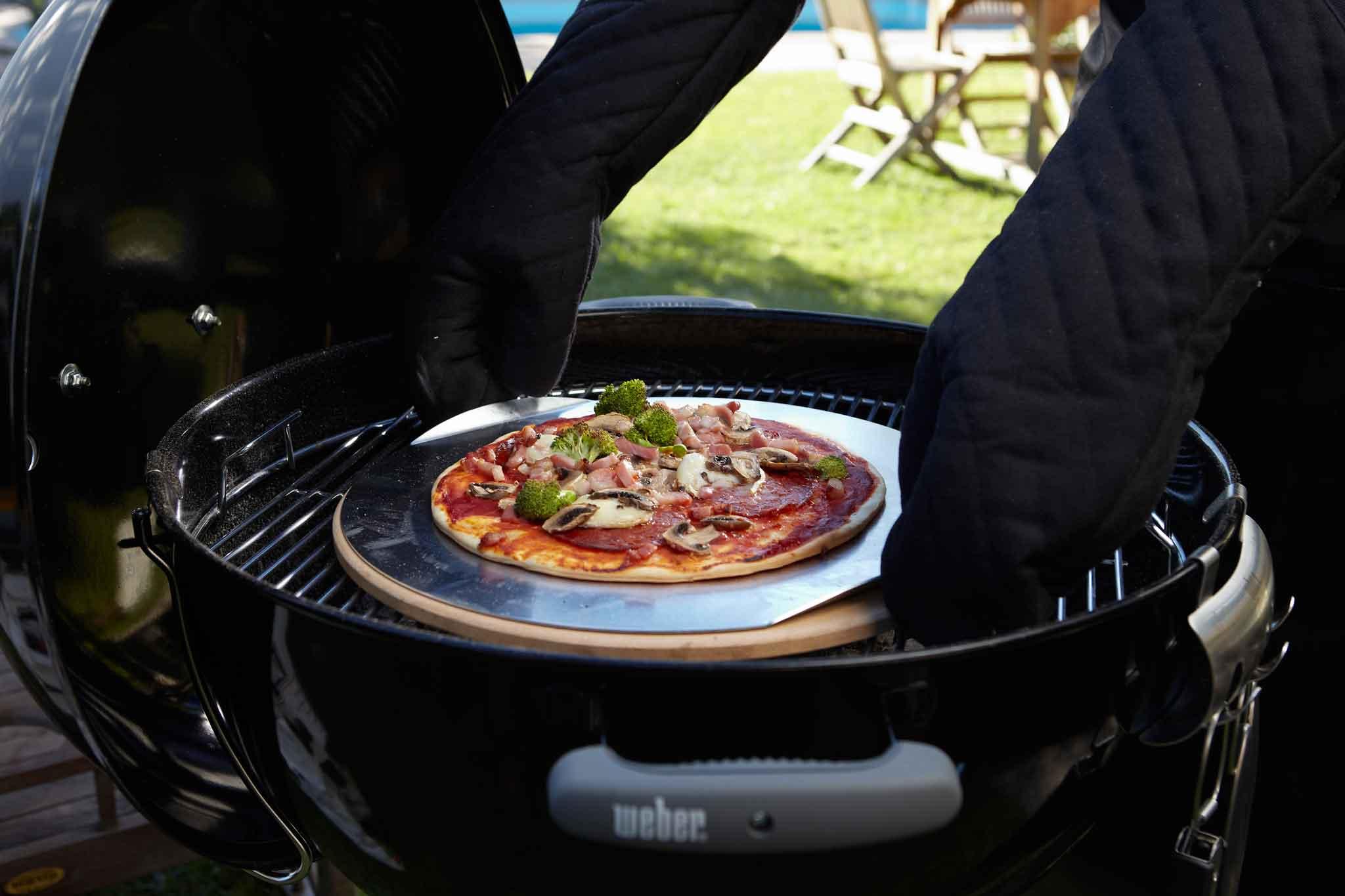 pizza sul barbecue